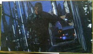 Franklin uciekający przedpolicją