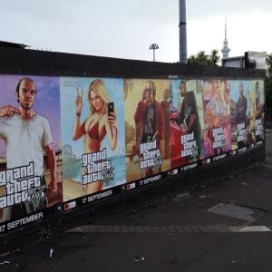 Ściana plakatów