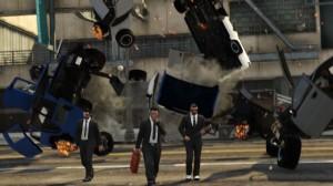 Ekipa GTAforums.com, The Leone Family, wciekawy sposób przedstawiła gangsterską rutynę (zdjęcie wykonał gracz KidFromBroker).