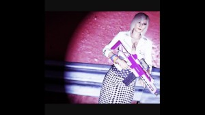 A très chic bit of fashion photography byRolli Master showing off the latest haute couture from the Business Update collection. The model is wearing asmart looking Houndstooth Pencil skirt set off nicely with this season's hottest accessory, anail-polish pink customized Special Carbine.