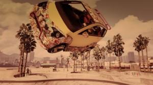 CaPn-b0nEs zekipy iGrandTheftAuto Crew uchwycił winteresujący sposób moment skoku mikro samochodem Panto. Sesja zdjęciowa zkolegami wskate parku przy plaży Vespucci opłaciła się.
