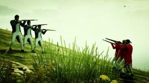 Świetna próba zobrazowania wojny wGrand Theft Auto V