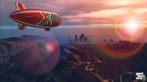 Nowy, szybszy ibardziej zwrotny sterowiec, sponsorowany przezfirmę Xero Gas