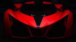 Czerwona bestia - Grotti X80 Proto - zdjęcie wykonane przezużytkownika Zoobz (GTAForums.com)